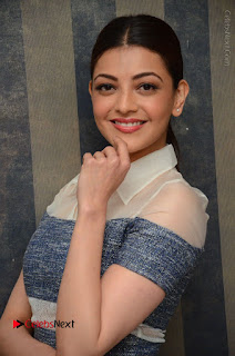 Actress Kajal Agarwal Latest Stills at Khaidi No 150 Movie Interview  0031.JPG