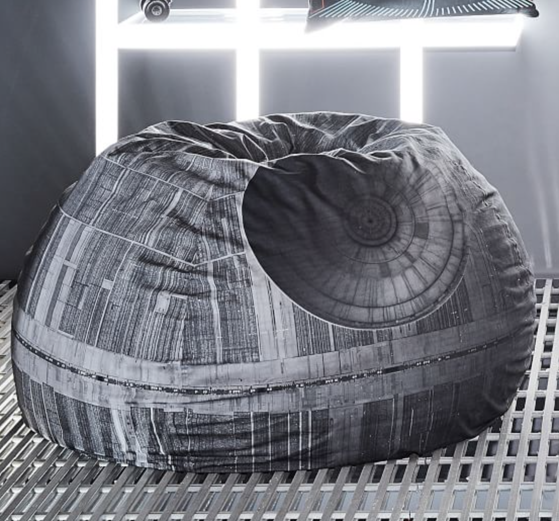 Could You Flop Down In One Of These Star Wars Beanbag Chairs