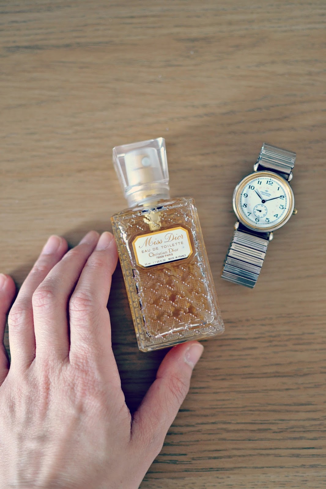 Miss Dior vintage perfume