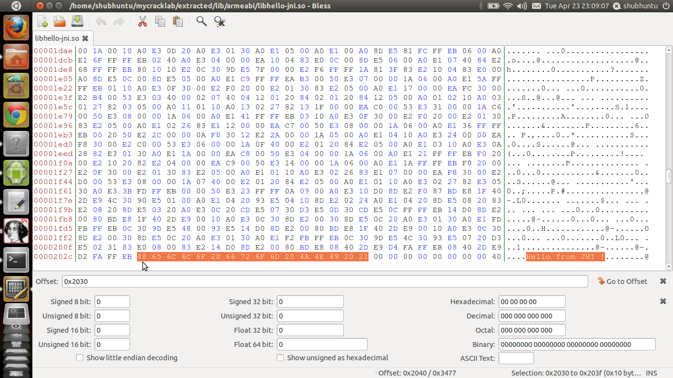 Native Android Reverse Engineering Tutorial#1: Patching