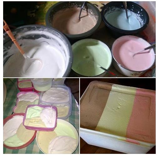 Ini resep es krim walls yang lagi tranding topik di group masakan! Silakan Coba!!!