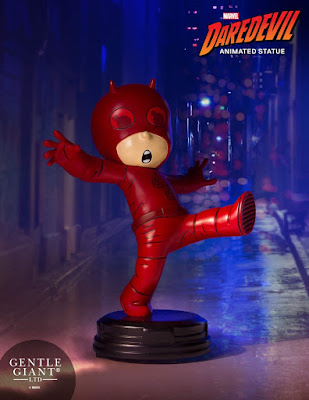 Daredevil Animated Marvel Mini Statue by Skottie Young x Gentle Giant