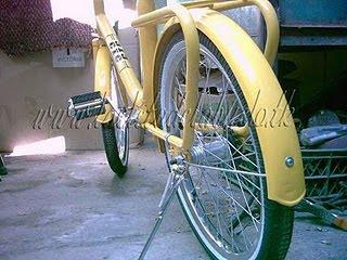 diseño de bicicletas retro