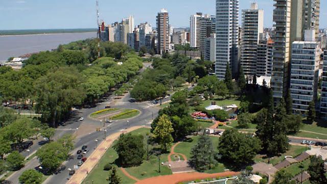 Visita ciudad Rosario, Argentina
