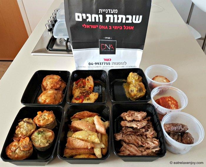 מעדניית שבתות וחגים מבית DNA - אוכל מוכן לשבת ולחג