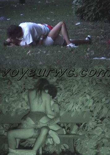 Couple Having Sex in Public on Street Hidden Cam (Galician Night Sex 111-112)