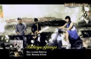 Lirik Lagu Suloyo Janji - Leona Valecia