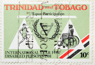 International Year for disabled persons, stamp from Trinidad and Tobago