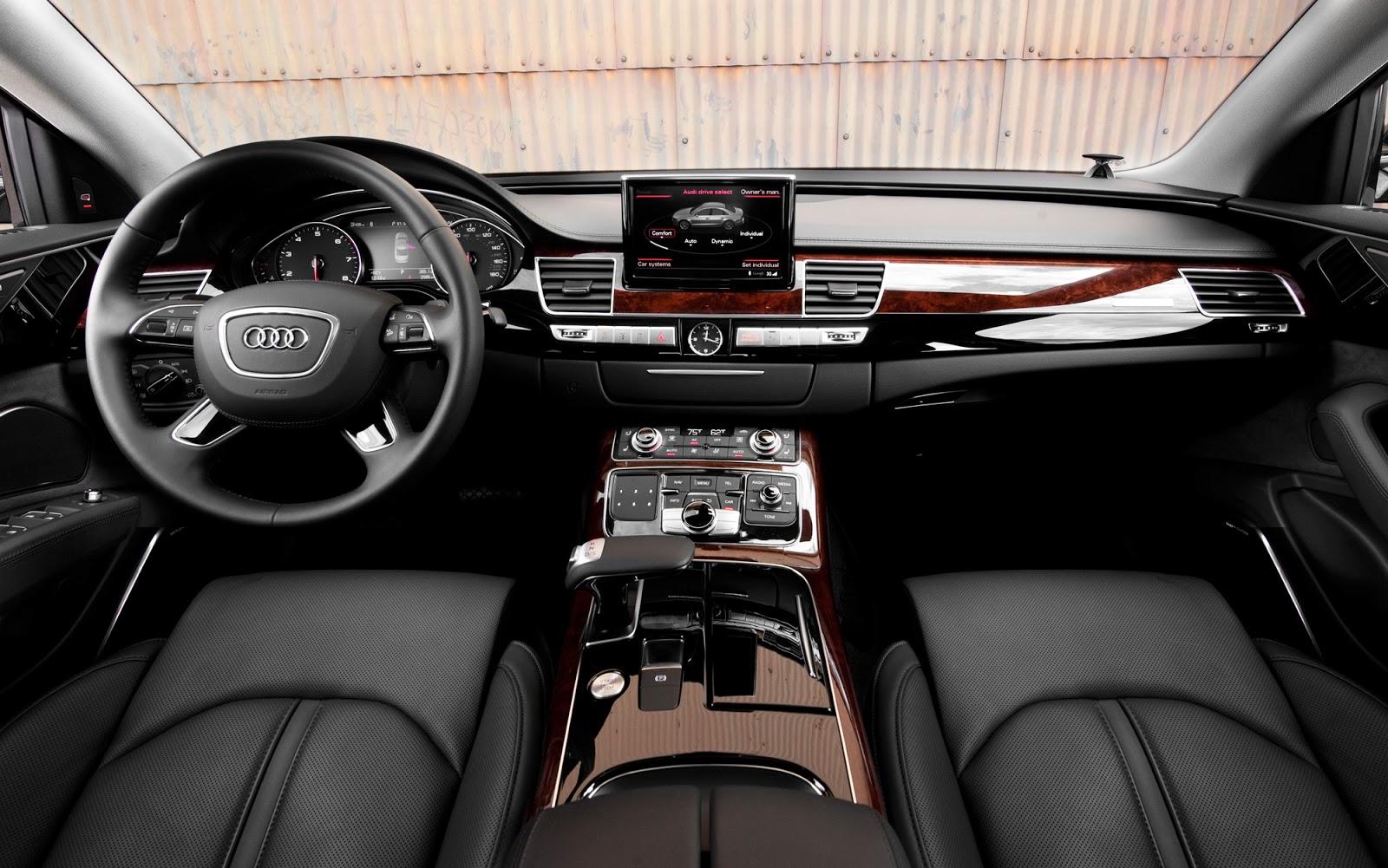 Audi Interior Car Models