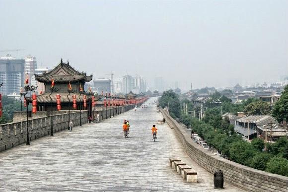 Resultado de imagem para a muralha de xi'an