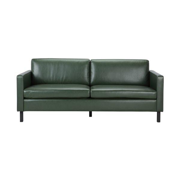 MAURICE Sofa Da Tổng Hợp 3 Chỗ 190x82x83 cm