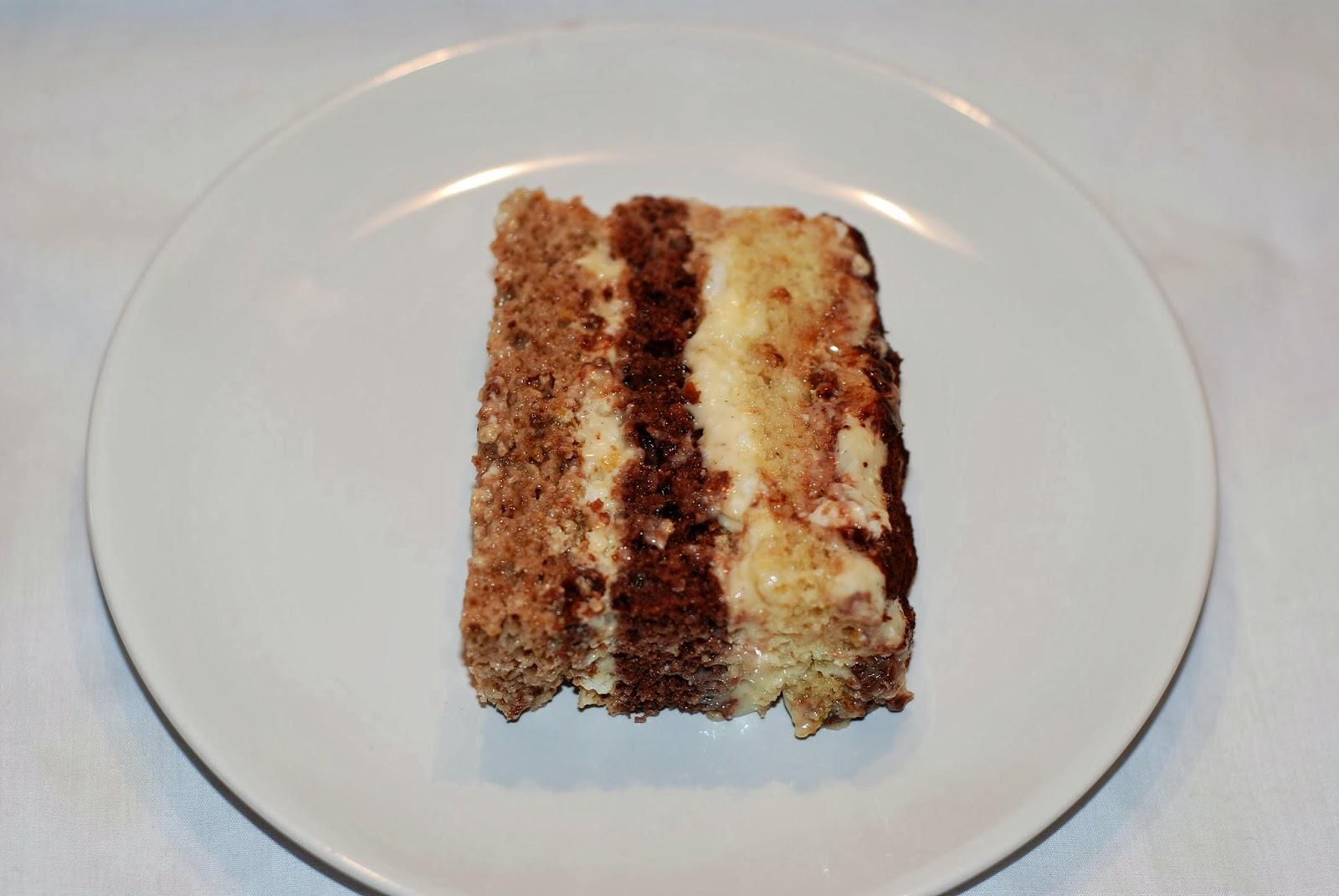 BitterSweet Bakery Somloi Sponge Cake  Somli Galuska