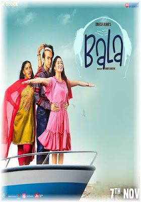 Bala 2019 Hindi Movie pDVDRip Poster