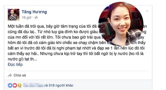 Tâm tư đầy lạc quan của cô gái bị tạt axit giữa Sài Gòn