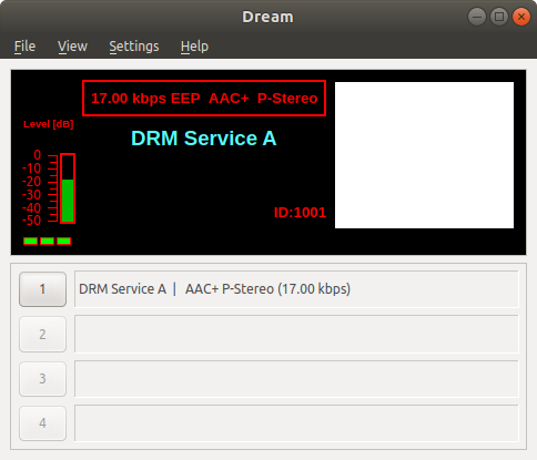 Dream decoding a DRM broadcast