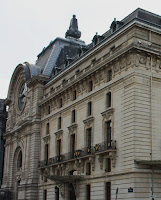 The Musée d'Orsay is a former railway station, designed by Victor Laloux occasion of the Universal Exhibition of 1900