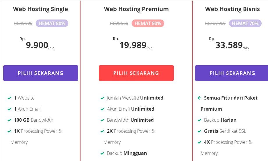 paket hosting di hostinger