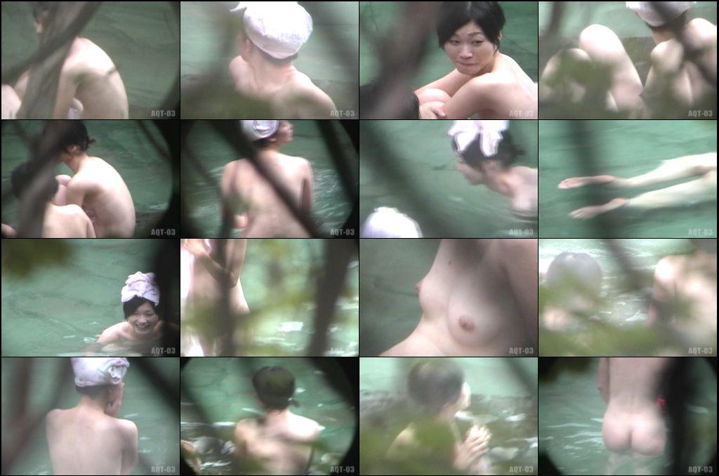 Aqua な露天風呂 Vol.732