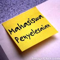 PENGUMUMAN UNTUK MAHASISWA PENYELESAIAN