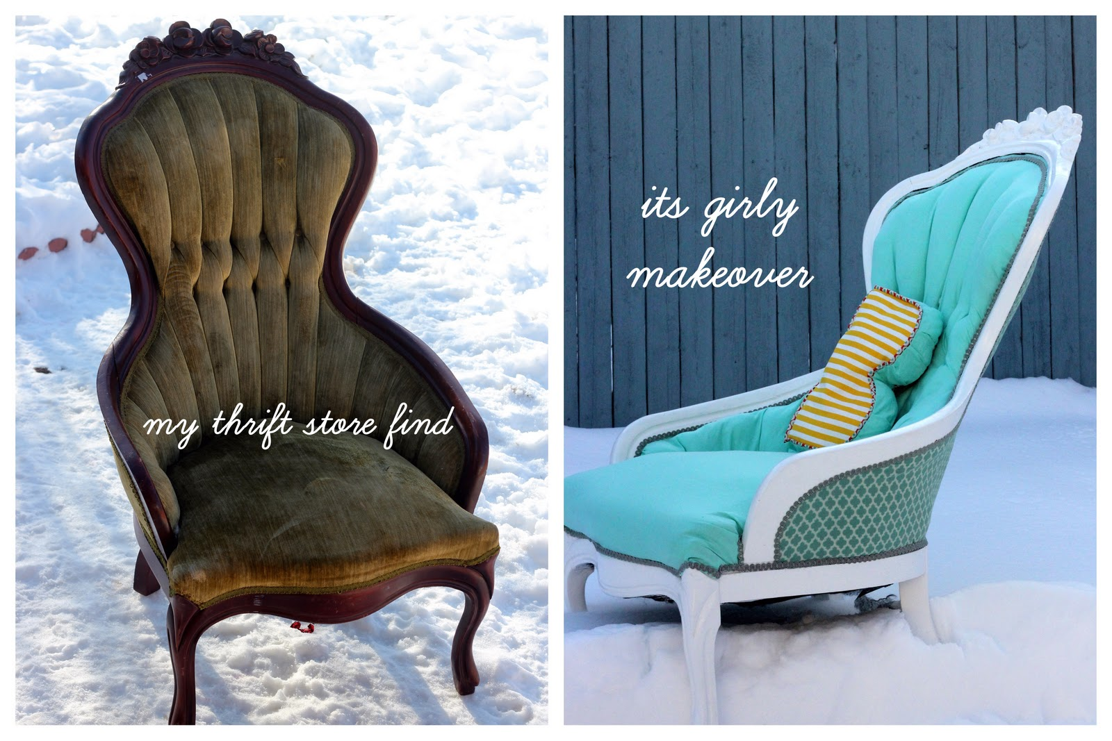 how to recover a sofa chair carlyle sofas reviews aqua redo tutorial reupholster tufted