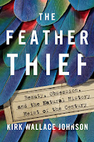 all about The Feather Thief by Kirk Wallace Johnson