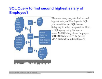 How do you find the second highest salary in the employee table?