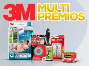 Cadastrar Promoção 3M e Multicoisas 2018 Compre Ganhe Prêmio