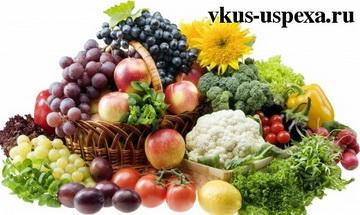 Витамины в продуктах и их правильное употребление