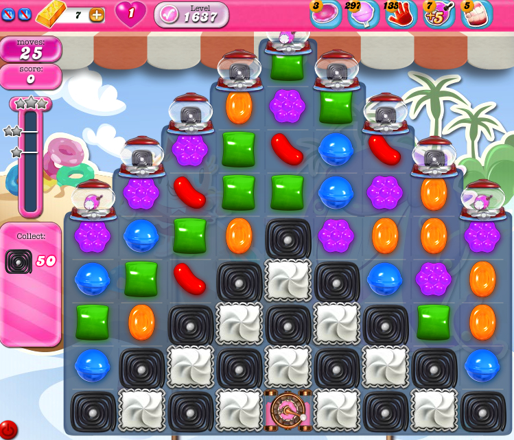 Candy Crush Saga 1637