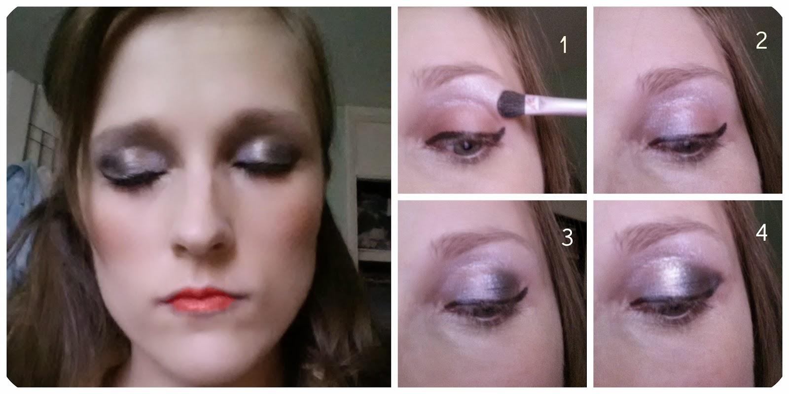 rimmel glam eyes golden eye makeup tutorial