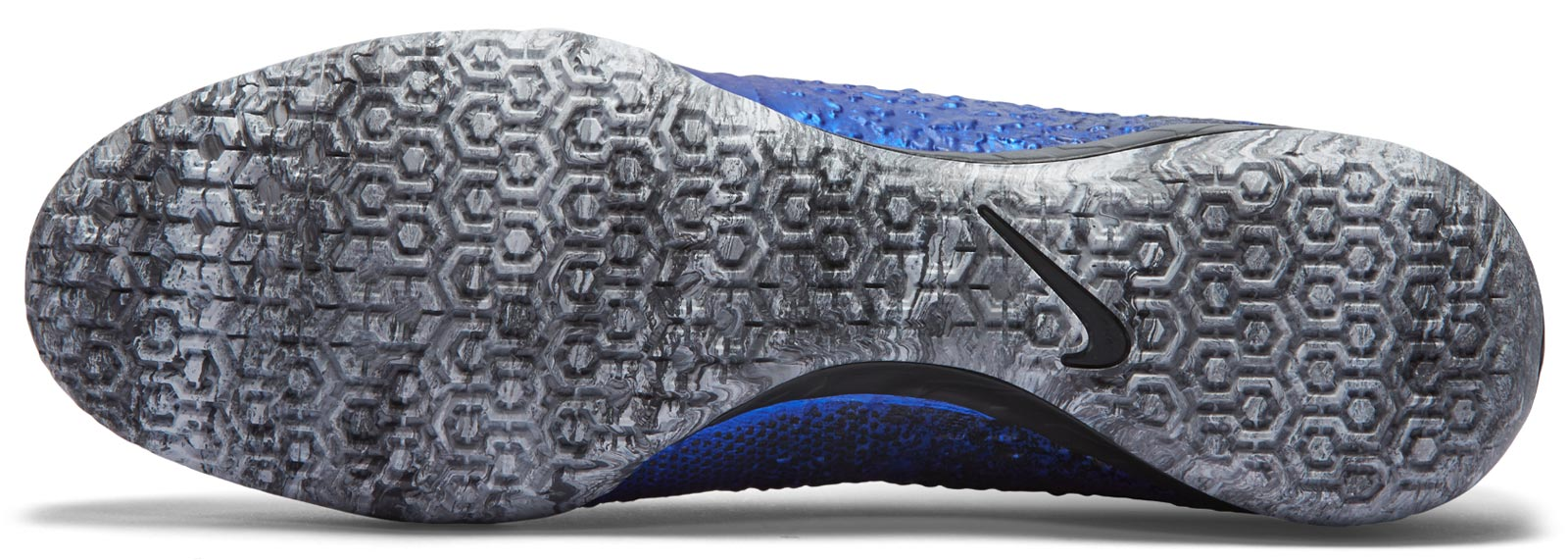 Schuhe Nike Indoor Fußball Mercurial Silber cr7 WEH29YDI