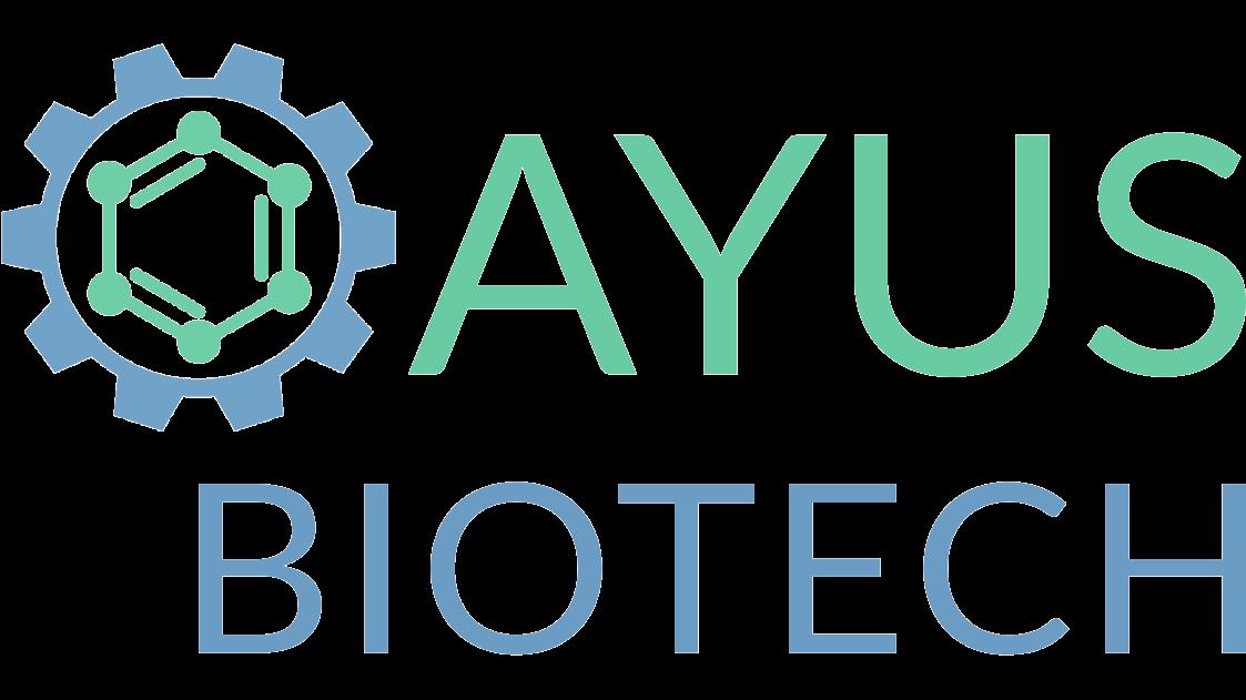 Combined trademark logo of AYUS BIOTECH INC.
