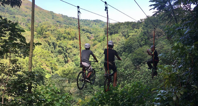 kampojuan is another popular tourist attraction in Bukidnon. Home to Asia's first anicycle (sky biking)
