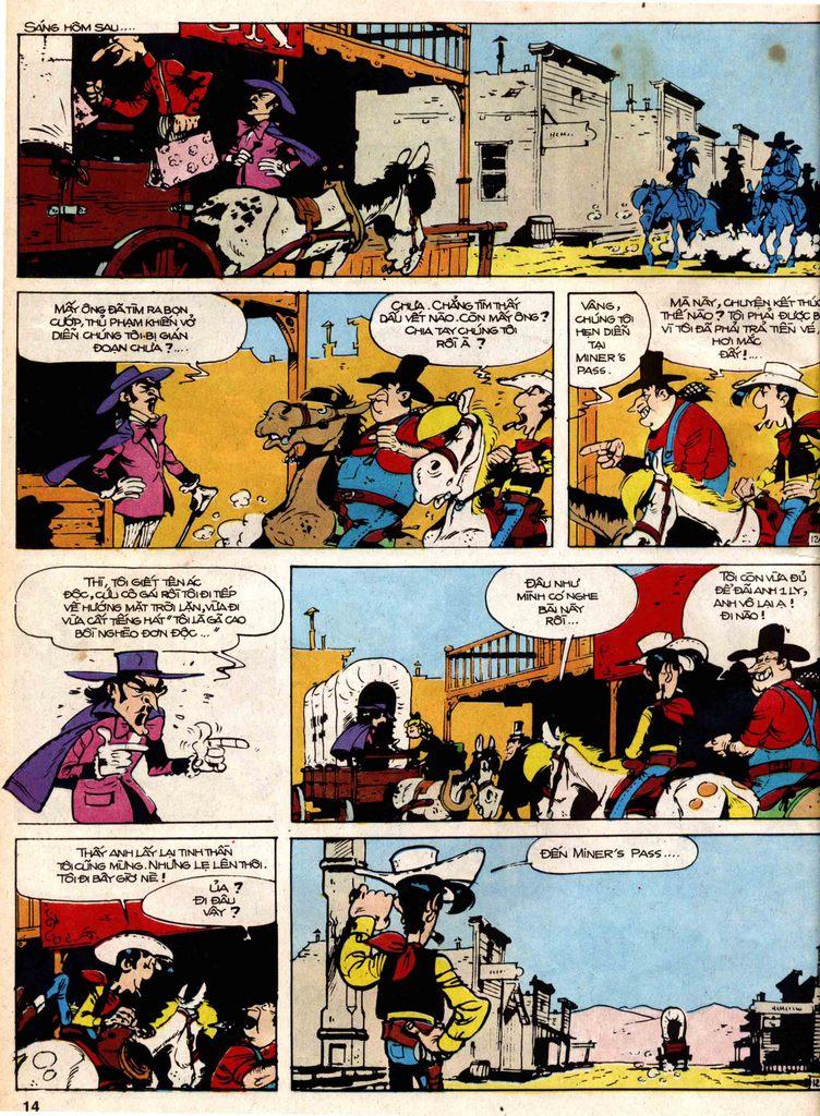 Lucky Luke tap 18 - ki si ao trang trang 12