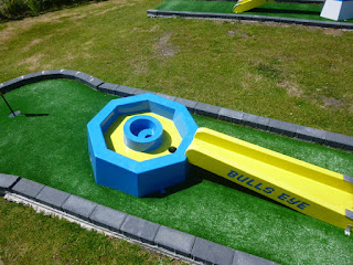 Crazy Golf course at Penwith Pitch & Putt in St Erth, Cornwall