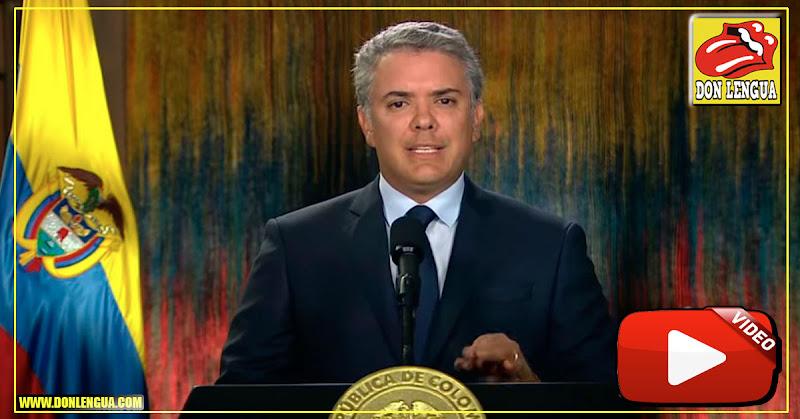 Iván Duque pide a Cuba entregar a los miembros del ELN en su territorio y advierte a Venezuela
