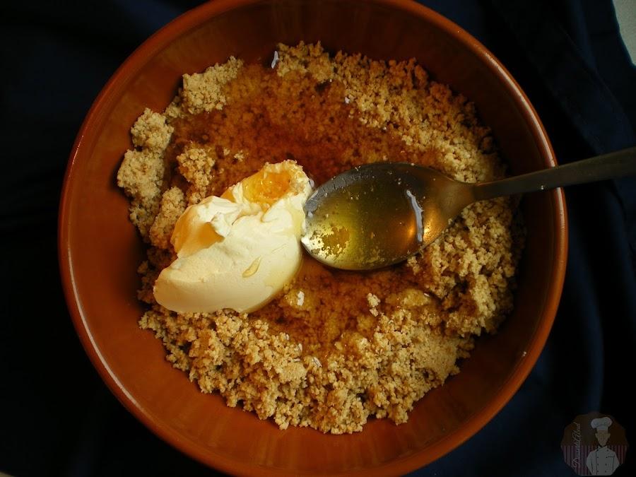 Jeljlaniya: Añadido de agua de azahar,miel y margarina.
