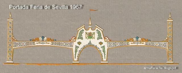 Portada de la Feria de Sevilla 1967