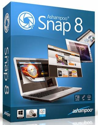 Ashampoo Snap 8.0.5 + Crack