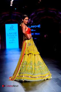 Bollywood Actress Malaika Arora Khan Walks on Ramp at LFW Summer 2017  0024.jpg