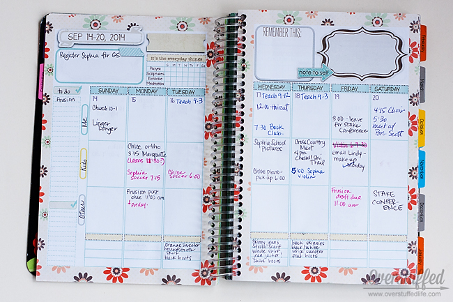 Declutter Your Mind With This Simple Trick - Overstuffed - vacation schedule template
