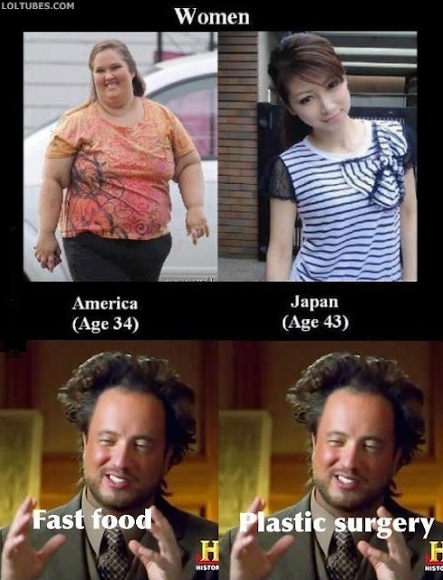 Japanese Women Vs American Women