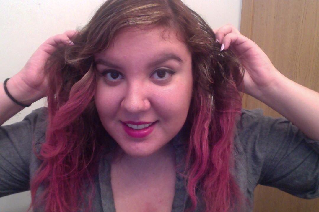 MK*UP*STYLE by Lexy632: Temporary PINK hair color with ...