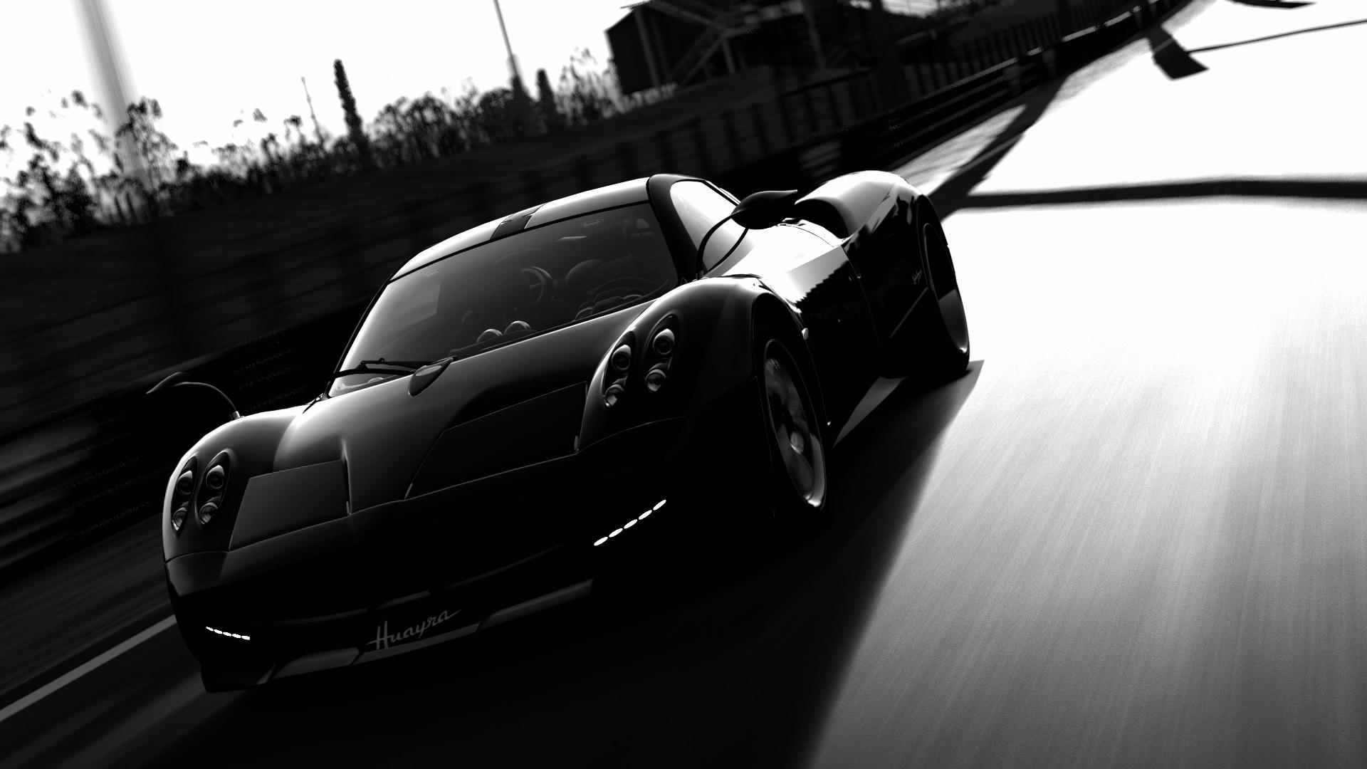 Matte_Black_Pagani_Huayra_hd Interesting Bugatti Veyron Grand Sport Vitesse Vs Pagani Huayra Cars Trend