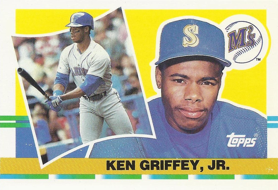 b86da2bcc0 The Junior Junkie: the Baseball Cards of Ken Griffey, Jr. and Beyond ...