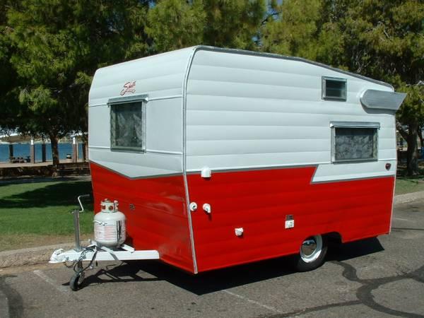 used rvs 1965 vintage shasta camper for sale by owner. Black Bedroom Furniture Sets. Home Design Ideas