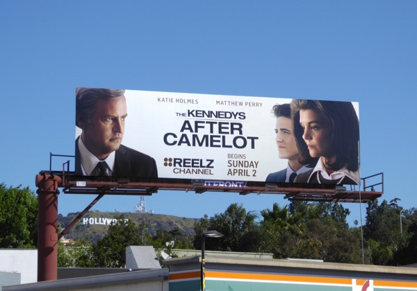 Kennedys After Camelot series premiere billboard