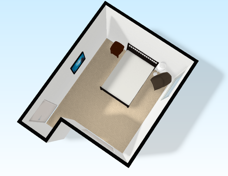 Guest Bedroom | The Layout