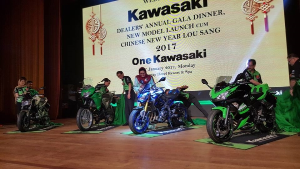 Harga Empat Model Premium Kawasaki 2017 Di Malaysia
