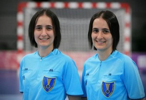 Hermanas Bonaventura, handball árbitras